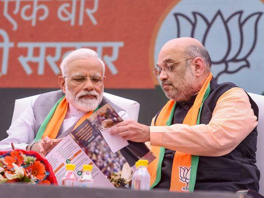 Prime Minister Narendra Modi and BJP President Amit Shah