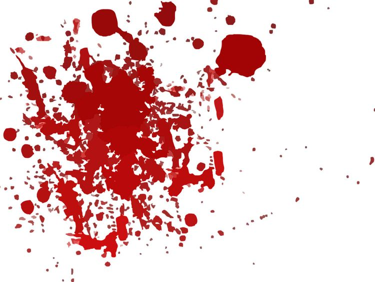 blood splatter, genric