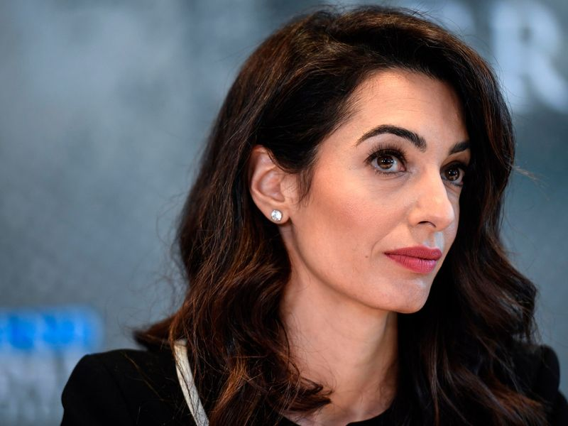 Amal Clooney quits UK envoy role