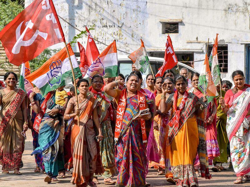 CPI women activists