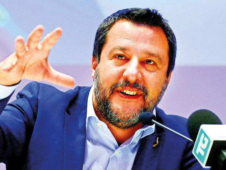 Matteo Salvini, Italy's Deputy Prime Minister