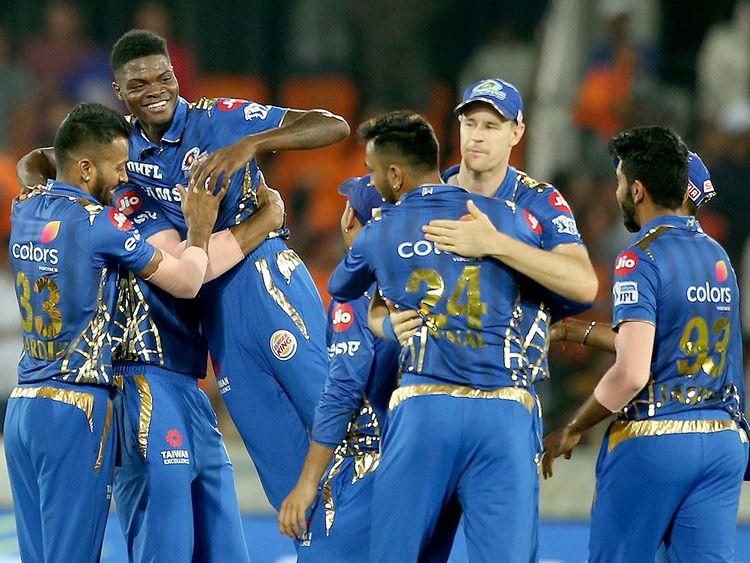 Mumbai Indian's team members