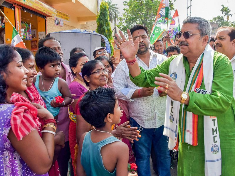 Trinamool Congress parliamentary candidate from Serampore, Kalyan Banerjee