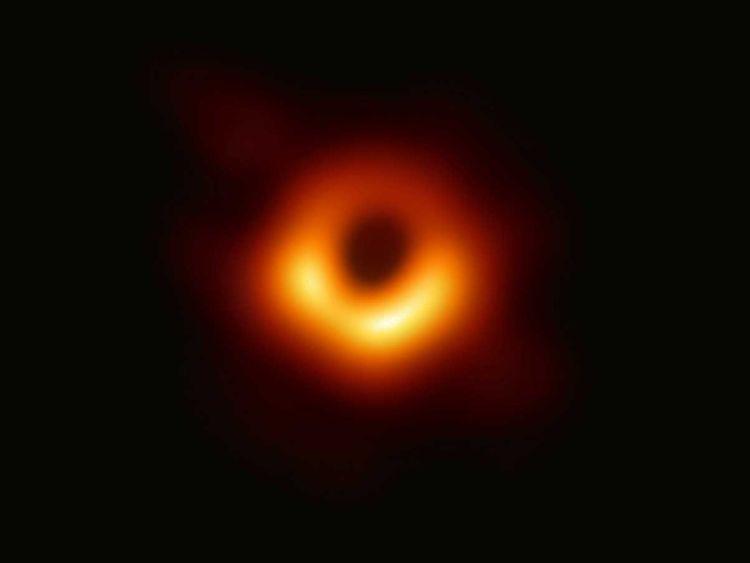 Black hole photo 'copyright'