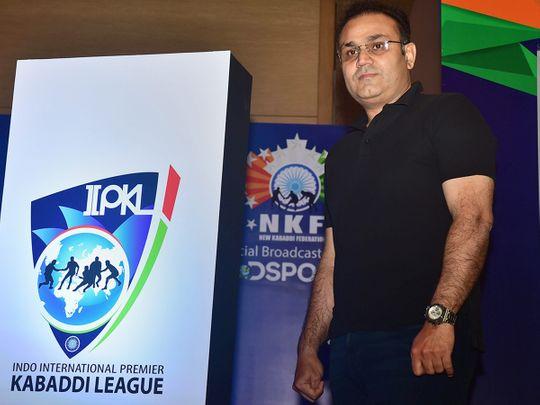 Former Indian cricketer Virender Sehwag