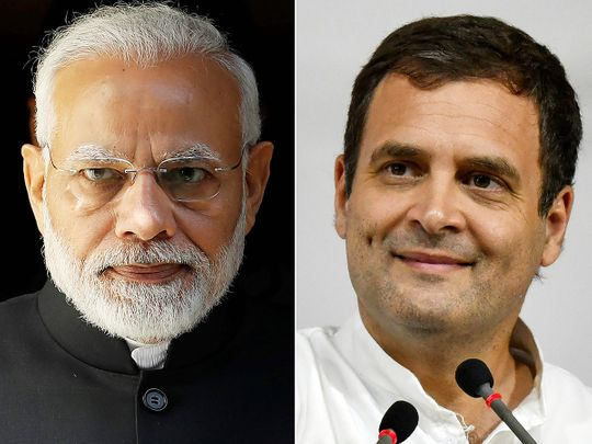 Modi and Rahul, Rahul and Modi