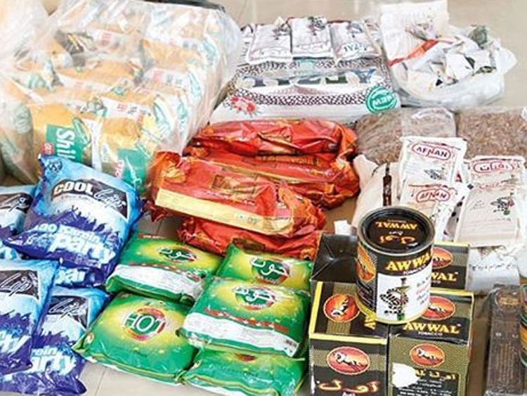 Paan confiscated in UAE