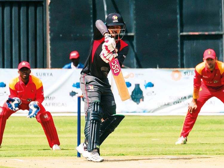Zimbabwe register seven-wicket win over UAE
