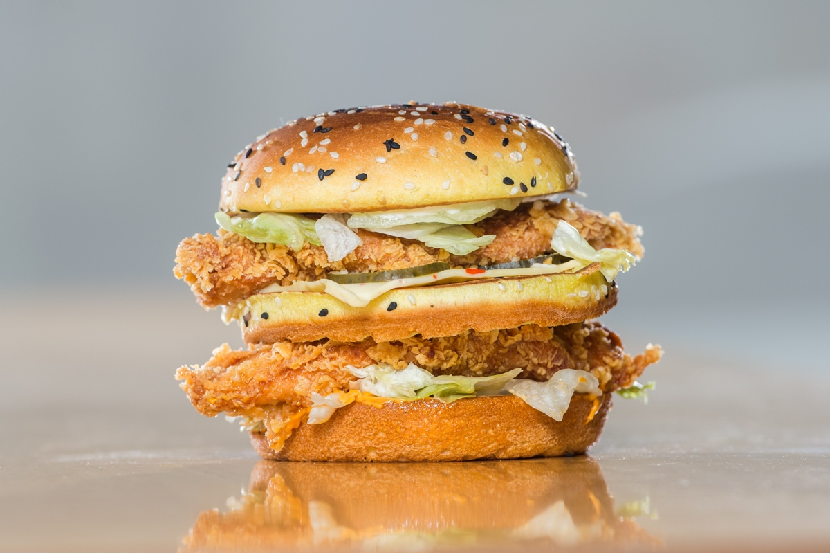 KFC Big Boss burger