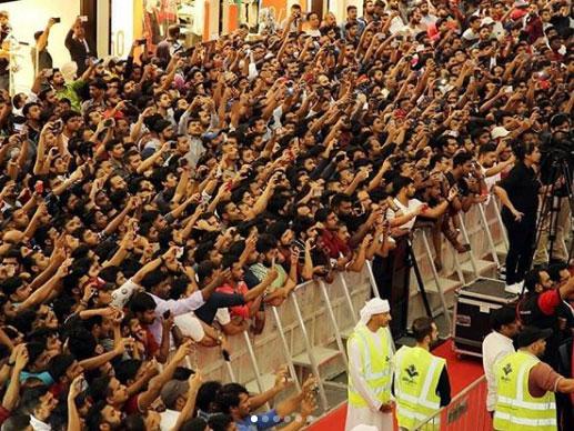 Mammootty fans in Abu Dhabi