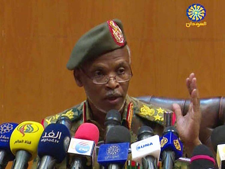 Leutenant General Omar Zain Al Abdin Sudan 20190412