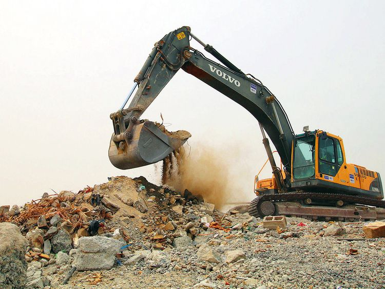 All organic waste generated at the Expo 2020 site