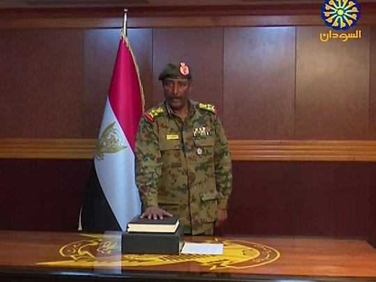 General Abdel Fattah Al Burhan Abdulrahman 20190414