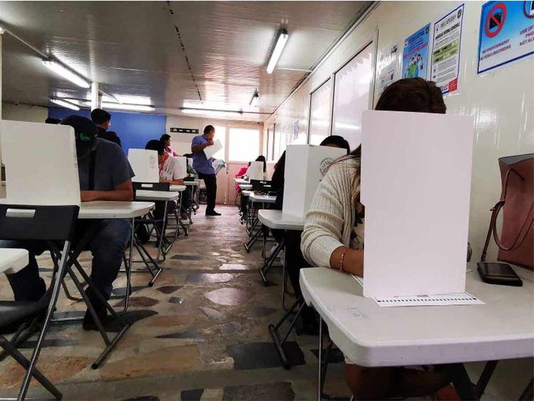 Philippines voting in UAE 201904113
