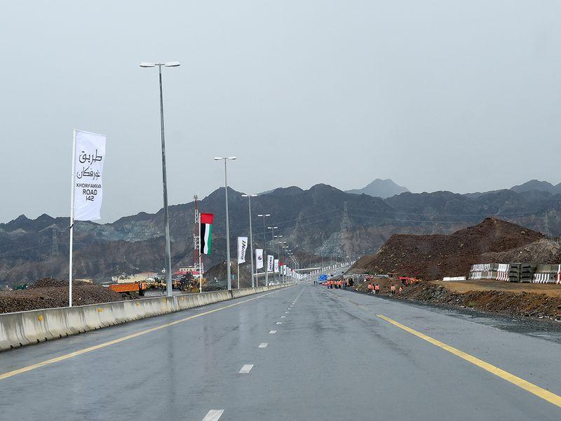 Sharjah-Khor Fakkan road
