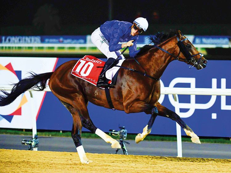 Thunder Snow, ridden by Christophe Soumillon