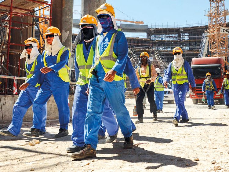 Qatar covered up the death of 1200 workers | Qatar – Gulf News