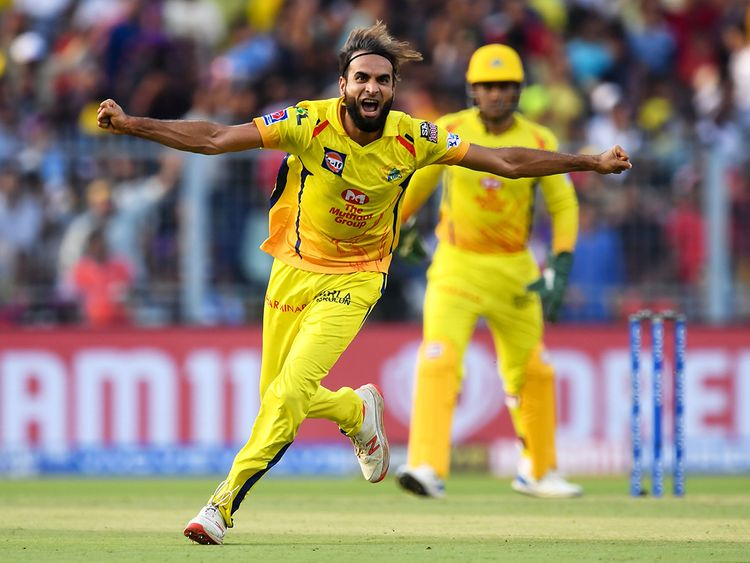 Chennai Super Kings' Imran Tahir