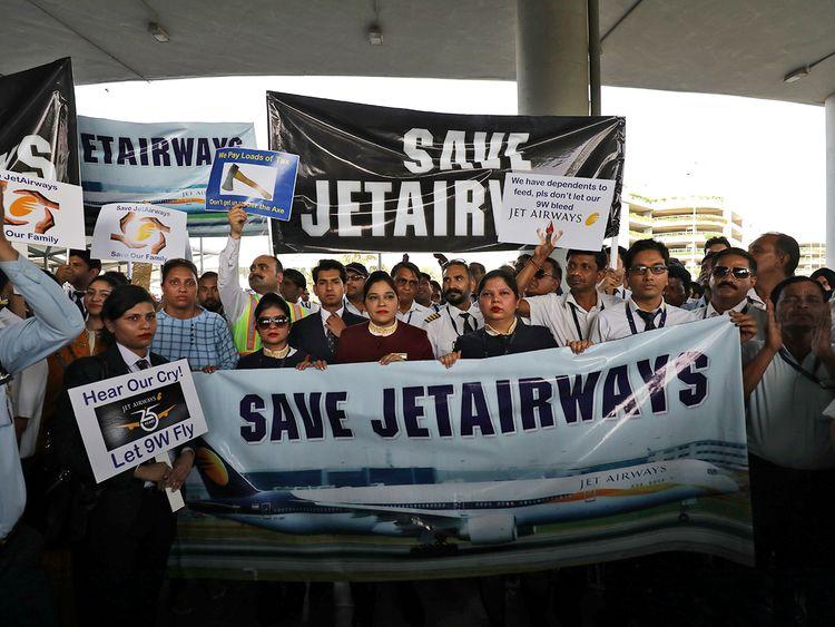 Employees of Jet Airways