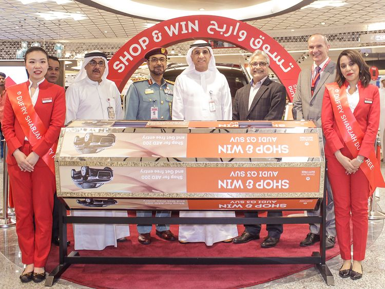 First winner of Sharjah Airport Duty Free Shop and Win Campaign announced