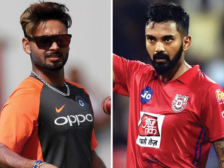 Lokesh Rahul and Rishabh Pant