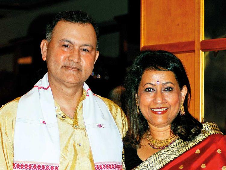 Aswini and Sajan Borkotoky