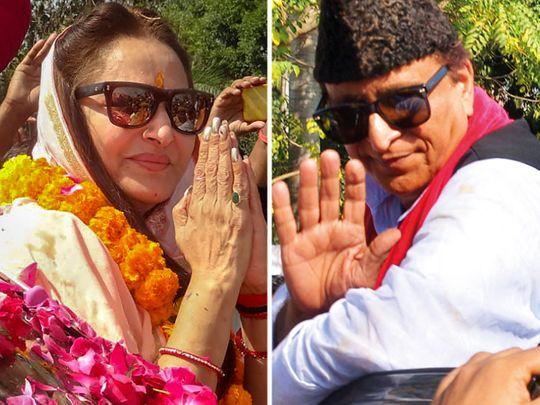 Jaya Prada and Azam Khan