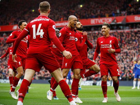 Liverpool's Mohammad Salah 5