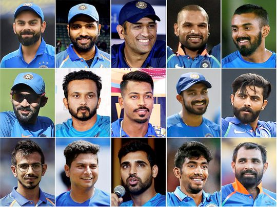 2e0451220ee India World Cup squad: Know your favourite stars