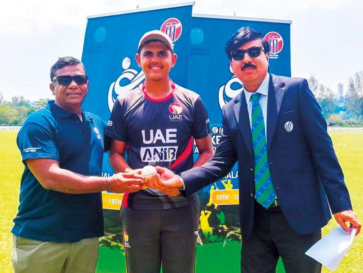 UAE captain Aryan Lakra