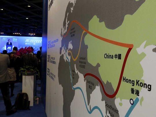 Belt and road File