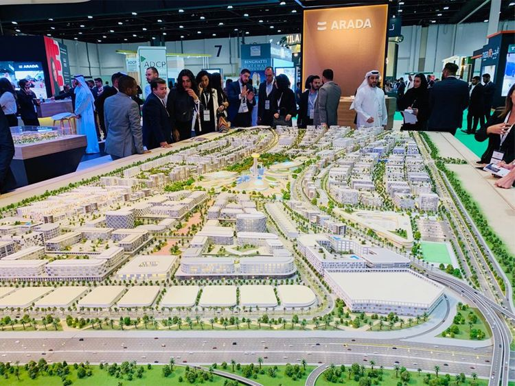 Bloom and Arada project on display at the Cityscape Abu Dhab