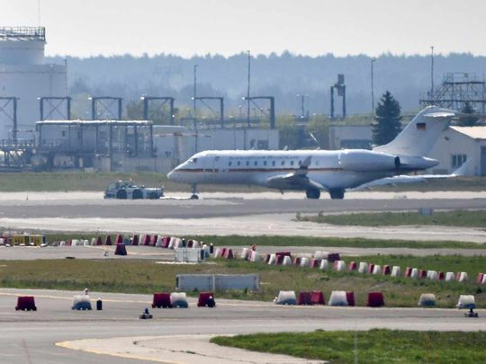Bombardier Global 5000 jet incident 20190416