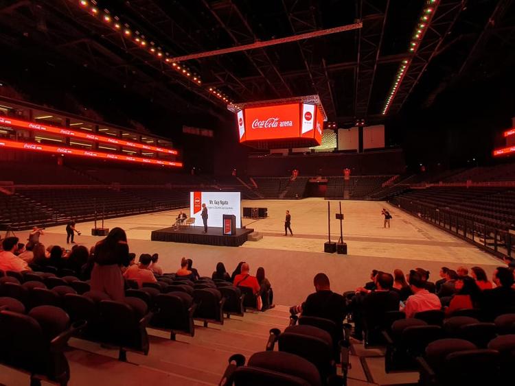 Coca Cola Arena Interior