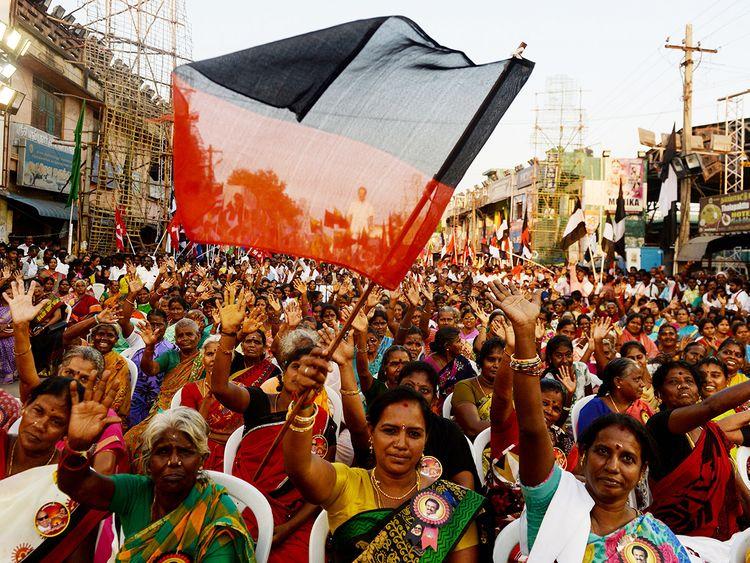 Members of the Dravida Munnetra Kazhagam (DMK)