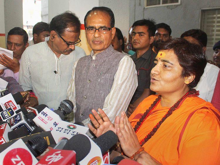 BJP candidate for Bhopal Lok Sabha seat Sadhvi Pragya Singh Thakur