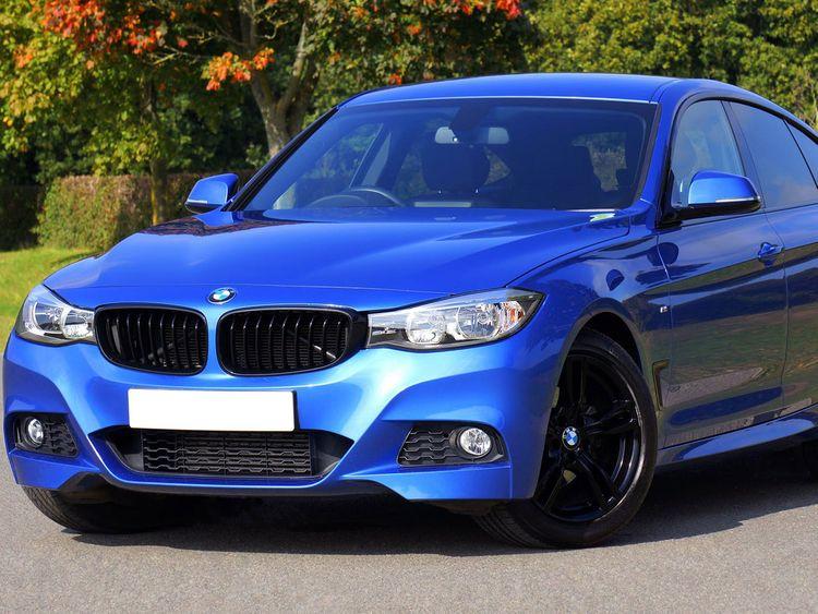 Blue BMW Generic