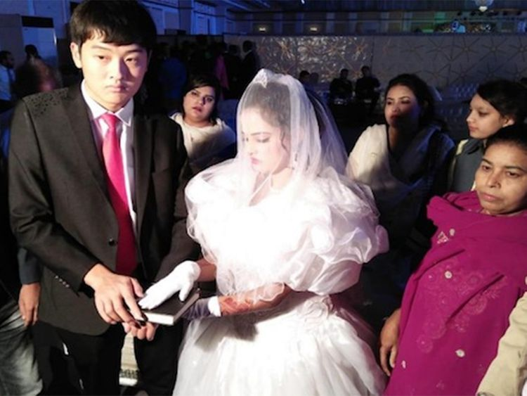 Chinese men lure Pakistani girls with marriage to traffic