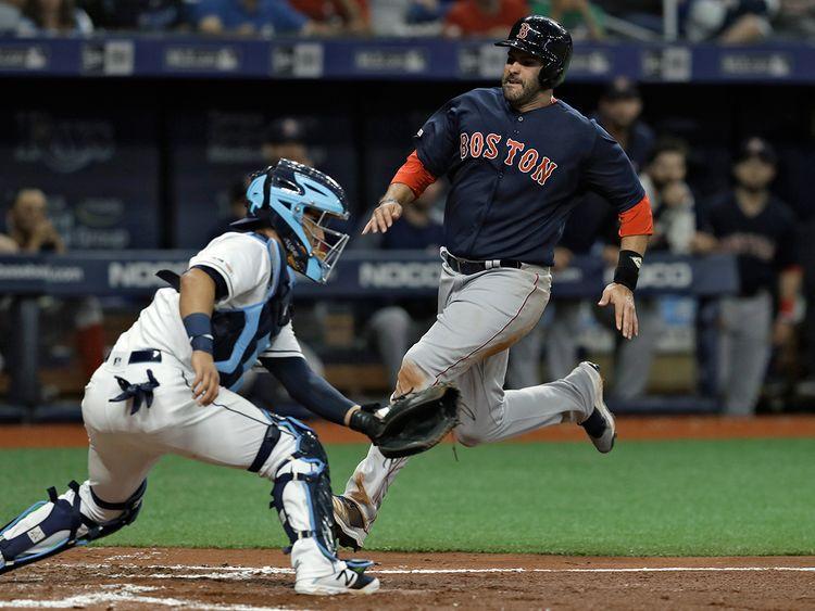 Boston Red Sox's J.D. Martinez