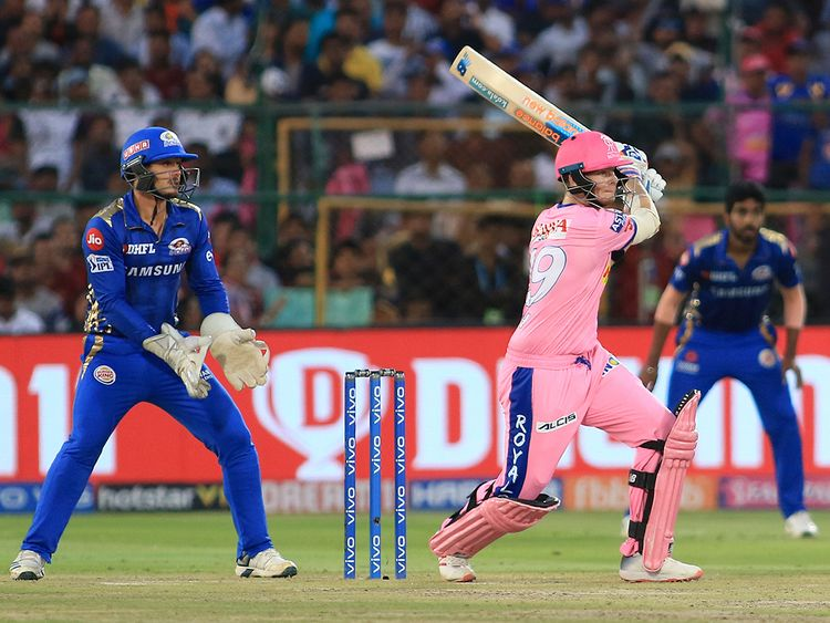 Rajasthan Royals' Steve Smith