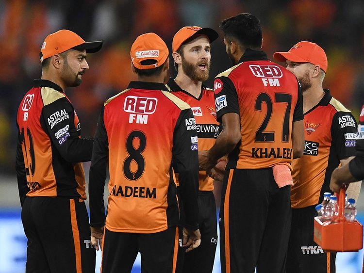Sunrisers Hyderabad cricket captain Kane Williamson