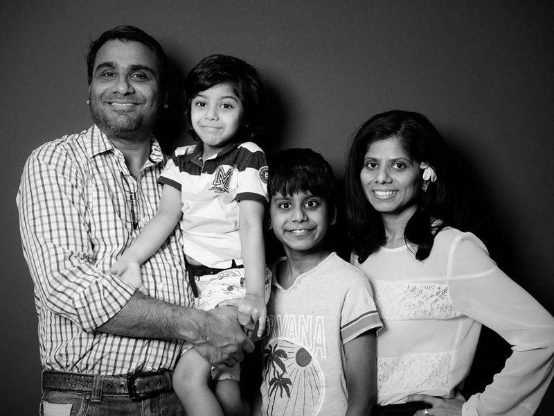 Gina Fernandes Family
