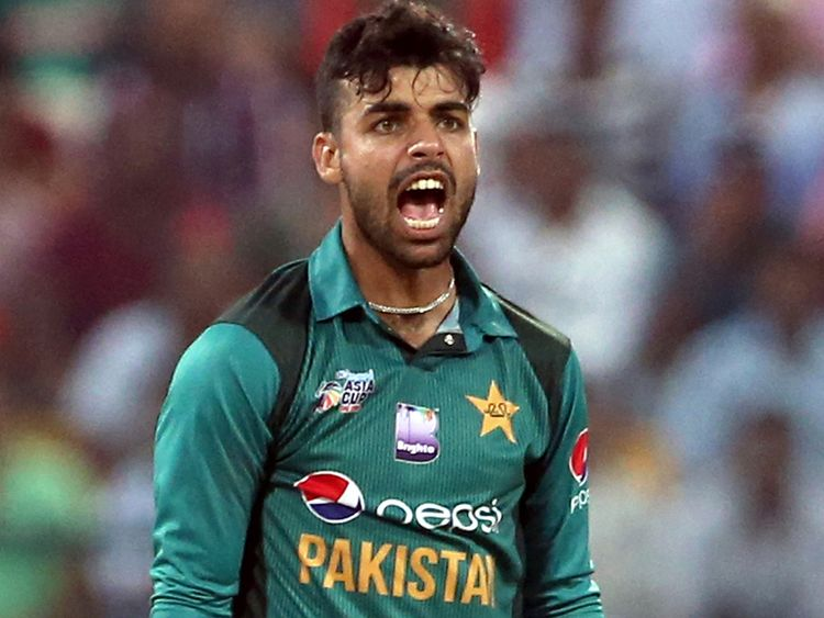 Shadab Khan to join Pakistan's 2019 World Cup squad from 20th May