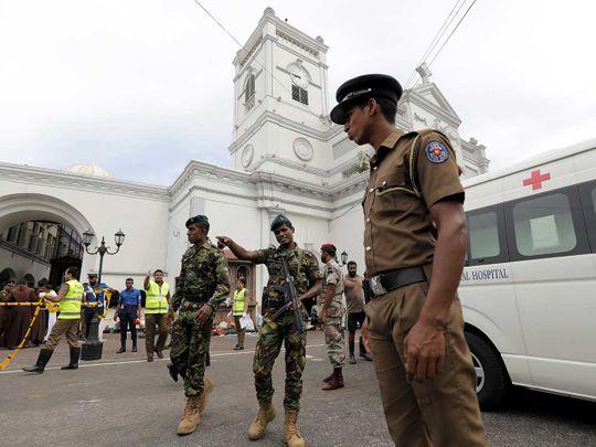 Sri Lankan military officials