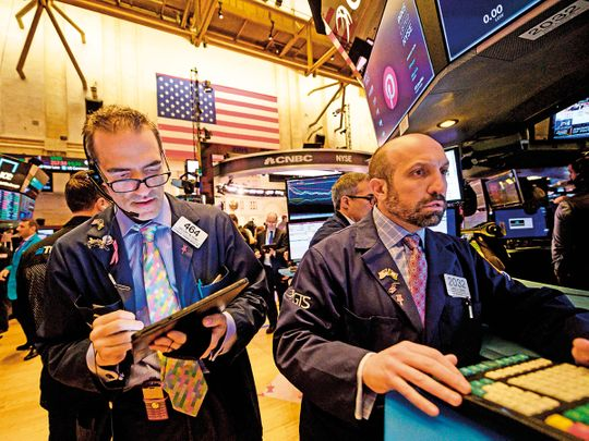 Traders at the New York Stock Exchange 11