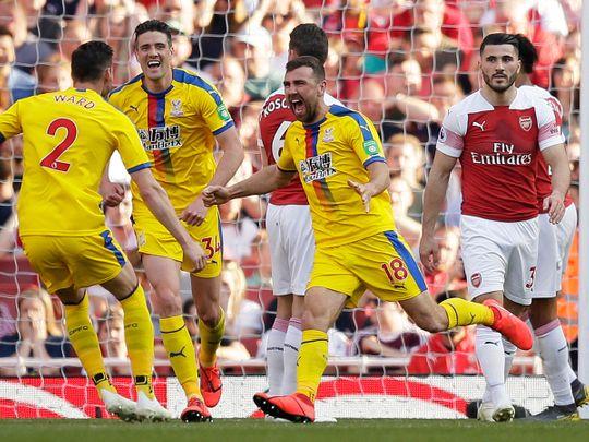 Crystal Palace's James McArthur