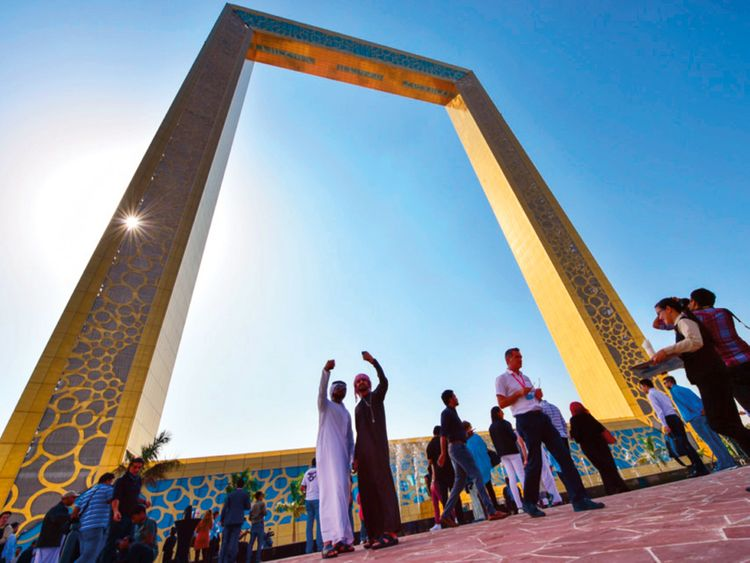 Dubai Frame wins leisure tourism award