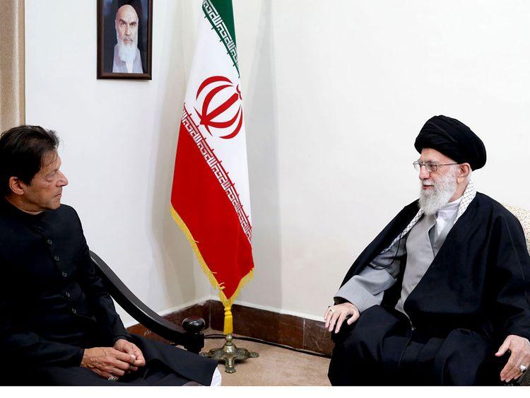 Imran Khan Iran visit
