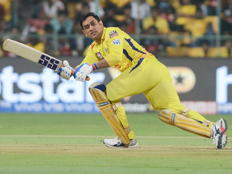 M S Dhoni, captain of Chennai Super Kings