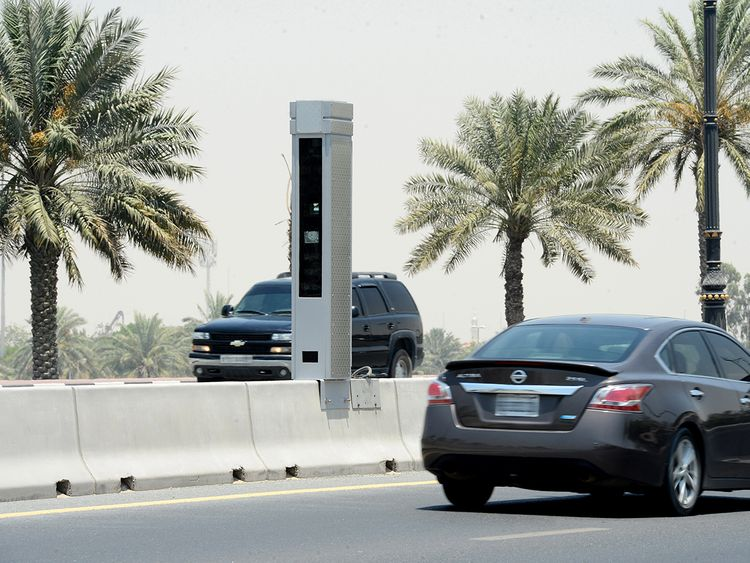 Sharjah drivers assured after speed camera malfunctions
